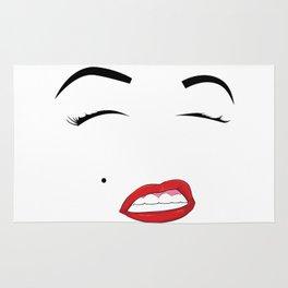 Red Lipstick Rug