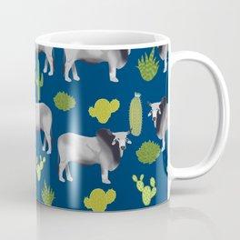 Brahman Cattle cactus southwest farm farming homestead animals Coffee Mug