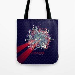 J'accuse Tote Bag