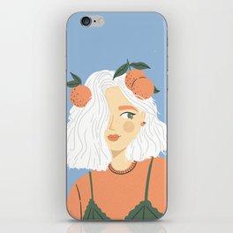 Clementine Girl iPhone Skin