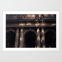 NYC Public Library Art Print