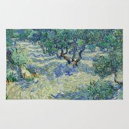 Olive Orchard by Vincent van Gogh Rug