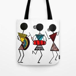 Warli Art Tote Bag