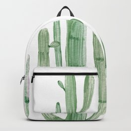 Three Amigos White + Green by Nature Magick Backpack