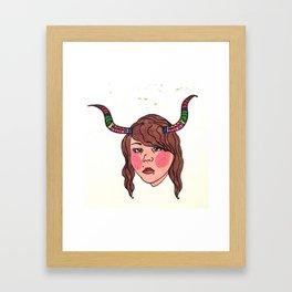Bullheaded Framed Art Print