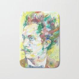 RICHARD STRAUSS - watercolor portrait.2 Bath Mat