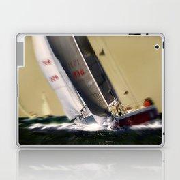 sailing race Laptop & iPad Skin