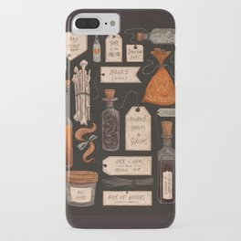 Spooky Halloween Odds and Ends iPhone Case