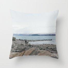 Lake Tekapo I Throw Pillow