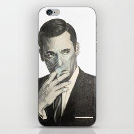 Don Draper's Blue Smoke iPhone Skin