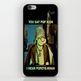 POP ICON / POPEYE-KHAN 025 iPhone Skin