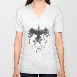 Crow Ffawkes Unisex V-Neck