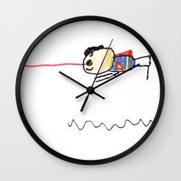 Superhero 4 Wall Clock