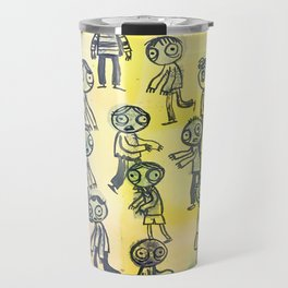 Zombie Horde Travel Mug