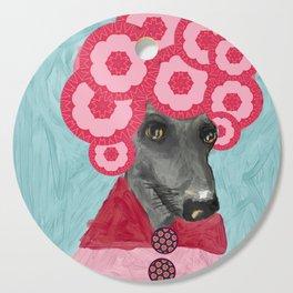 Frida in bloom Cutting Board