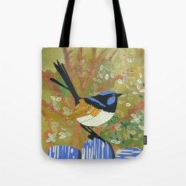 Superb Fairy Wren Tote Bag