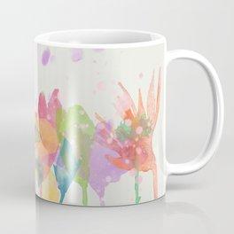 dp059-1 Watercolor flowers Coffee Mug