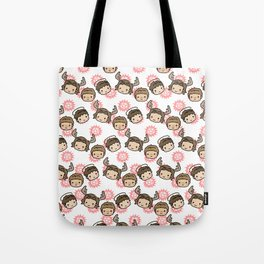 TFW pattern Tote Bag