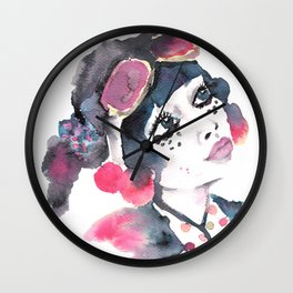Decora Girl Wall Clock