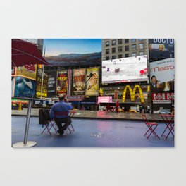 Alone in NYC Canvas Print