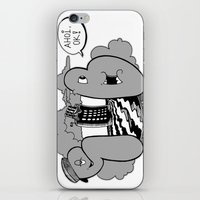 submarine iPhone & iPod Skins featuring submarine by ouchgrafix urban art