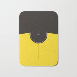 Yellow Jersey Bicycle Bath Mat