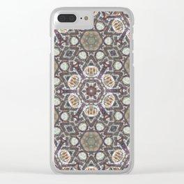 Mandala Of The Earth Clear iPhone Case