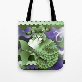 capricorn ZodiaCat Tote Bag
