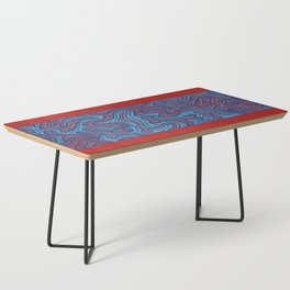 Stitches - Coral Coffee Table