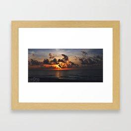 Start of a New day Framed Art Print