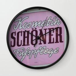 Schoener Wall Clock