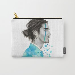 Man Bun Tears Carry-All Pouch