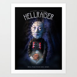 Hellraiser Art Print