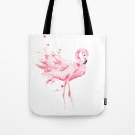 Dancing Flamingo Tote Bag