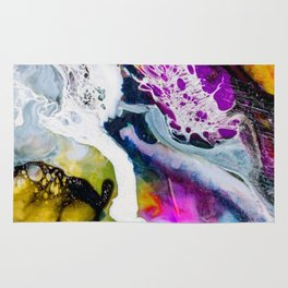 Abstract Melt V Rug