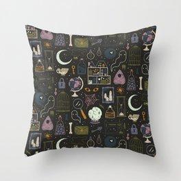Haunted Attic Throw Pillow