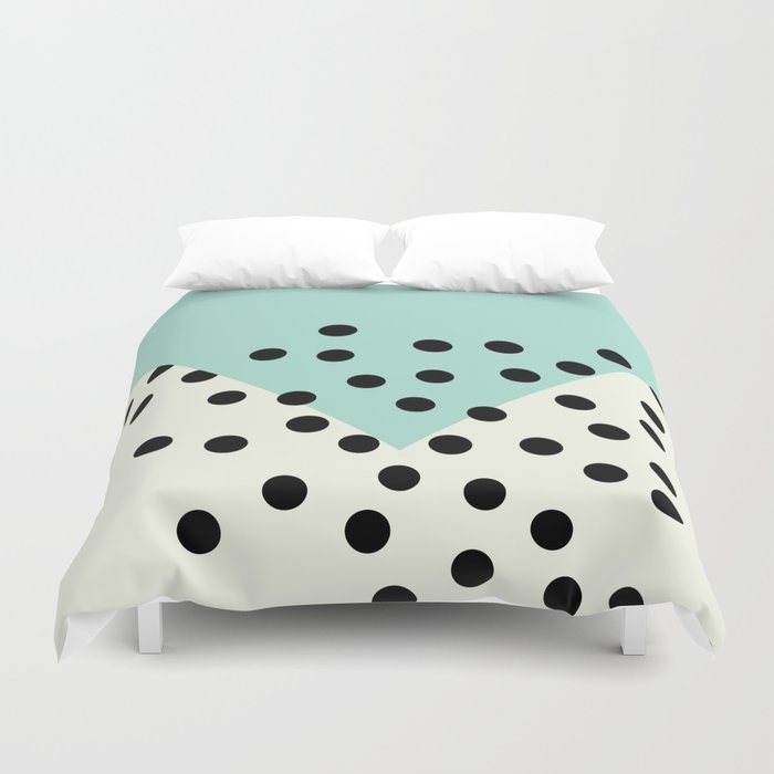 duvet polka reversible shipping dot view set royal dots gray cover free percale cotton quick white tradition