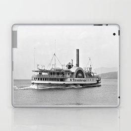 Ticonderoga Side Wheeler Steamboat Laptop & iPad Skin