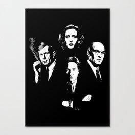 X-four Canvas Print