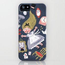 Alice in Wonderland iPhone Case