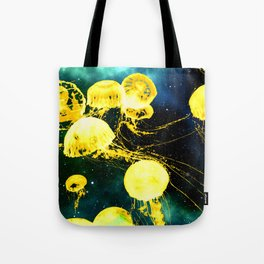Electric Jellyfish in the Ether Tote Bag