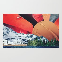 Sunset Collage Rug