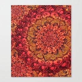 Ruby & Garnet Doodle Canvas Print