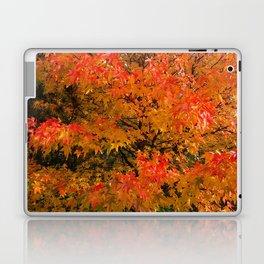 Maple Flames Laptop & iPad Skin