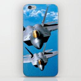 Lockheed Martin F-22 Raptor iPhone Skin