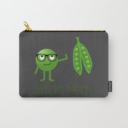 Bitch Peas Carry-All Pouch