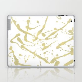 Gold drops Laptop & iPad Skin
