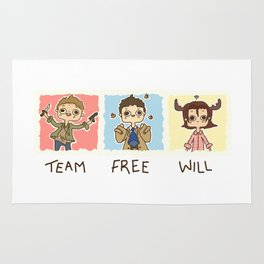 Team Free Will Rug