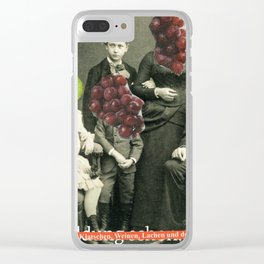 Familienfeier 1 Clear iPhone Case