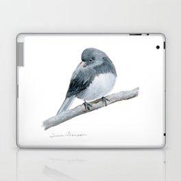 The Bashful Black-Eyed Junco by Teresa Thompson Laptop & iPad Skin